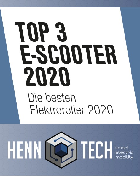 HennTech - TOP 3 E-Scooter 2020